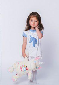 Personalised Unicorn Teddy Bear