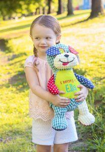 Barkley Bone Dog Teddy Bear Toy