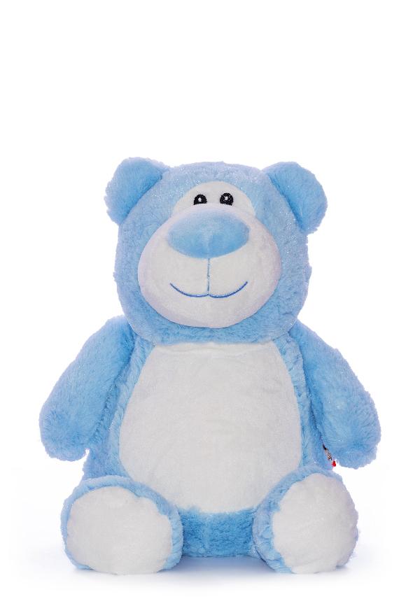 Personalised Blue Bear Teddy