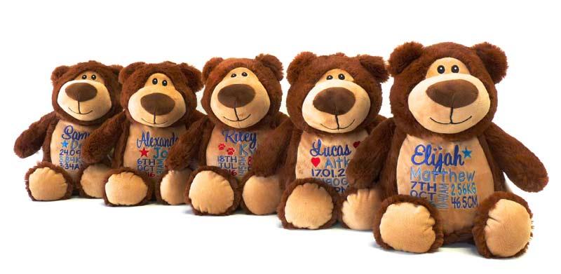 Brown Bear Teddies