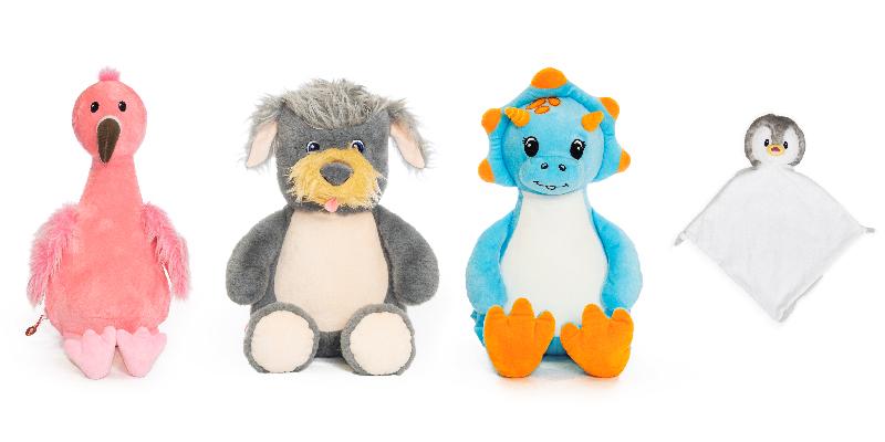 Personalised Soft Sensory Toys