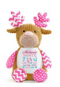 Personalised Soft Sensory Deer Teddy
