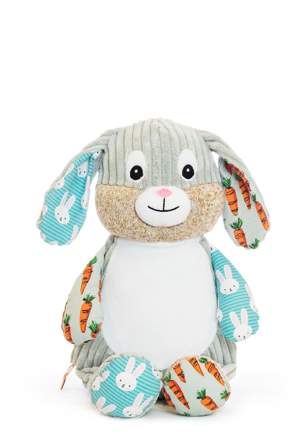Personalised Bunny Teddy Sensory Toy