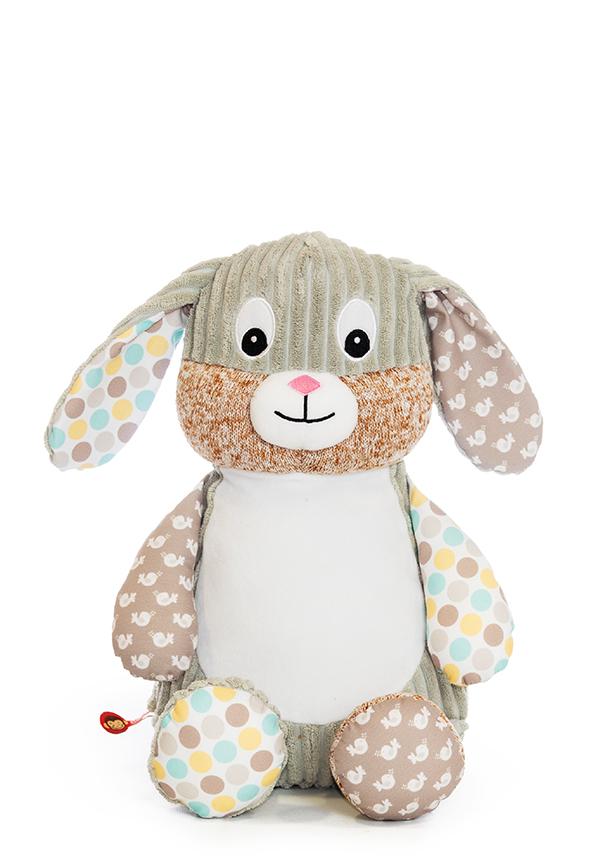 Personalised Sensory Bunny Teddy
