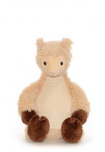 Personalised Llama Teddy Bear