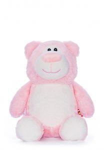 Personalised Pink Bear Teddy