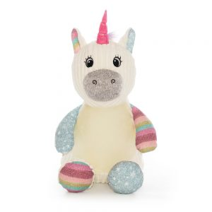 Personalised Teddy Bear Baby Sensory Toy